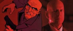RED - Frank Moses no gibi e na película